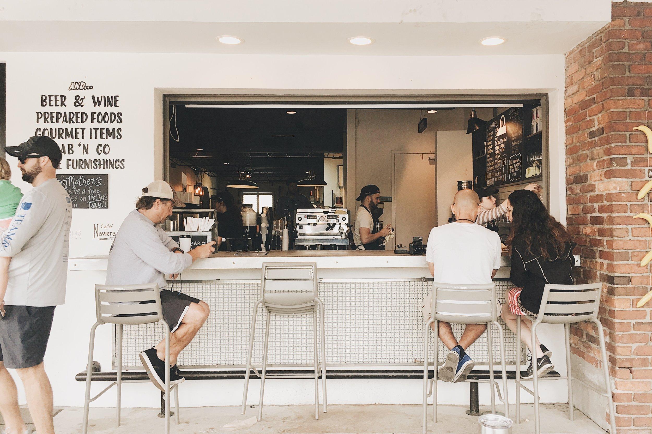 DI Coffee Bar, Davis Islands