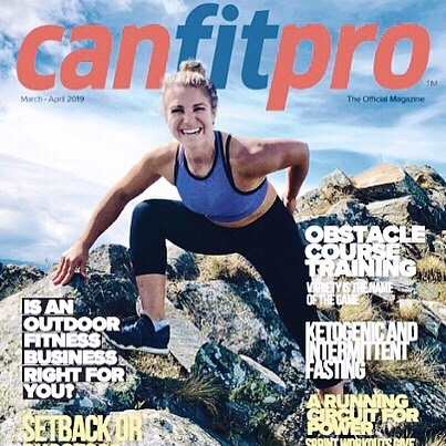 Well aren't we proud 👆🏼 @mandygilldotcom @canfitpro #covergirl #clientlove #proudagents #thehumangroup