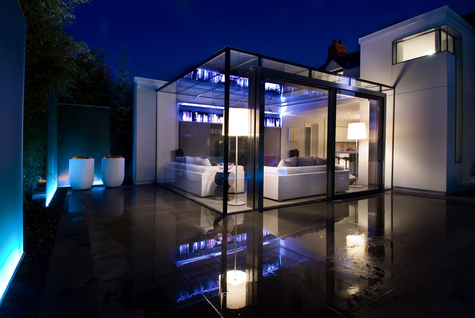 Outside Terrace Lighting Design