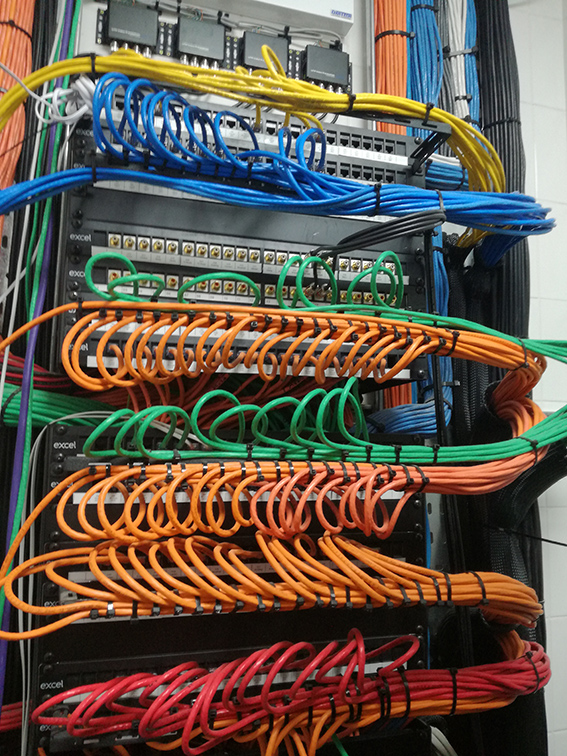 DATA NETWORK INFRASTRUCTURE    LEARN MORE