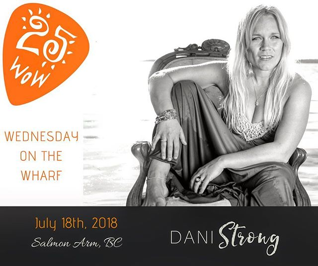 Salmon Arm, don't let that sassy lassie in the photo fool you... I plan on being as goofy and fun as always! Mark your calendars and come on out July 18th!  Last BC show before we head back to Ontario for a bunch of shows (and visiting... and boating... and camping) through August and September! . #summertour #canadianmusic #canada #summer2018 📷: @markmaryanovich