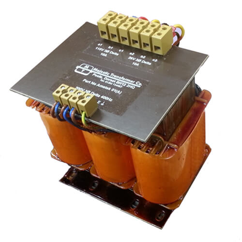 Three Phased Open Frame Transformers -