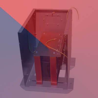 3 Phase Cased Transformer -