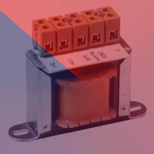 Clamp Fixing Miniature Transformer -