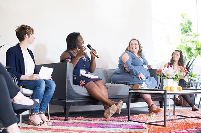 2017 Retreat Recap is now LIVE on our site! (click link in bio) . We can't thank all of you who attended this year's retreat enough! Thank you for traveling to Nashville and stepping into a space where we could have conversations on diet culture, body image, mental health, disordered eating, and more, and learn and process together. ❤🙌🏼 . This year's retreat was so life-changing that we have already started planning next year's (May 4th-6th) and we're giving you the chance to grab your spot early! . Mark your calendar for this Friday, July 21st at 7:00AM CST, to grab your ticket at a huge discount! . **Pssst! Not only are we bringing back some of your past retreat favs, we're also adding some incredible workshops and opportunities to dive deeper, learn more, and unpack information with an expert! . . Special shout out @southwell.photo for capturing this incredible weekend, speakers @fatgirlflow, @powertoprevail, @krystalnclark, and @ashleymeaster featured above, and @12thtable for the beautiful furniture!