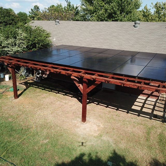 Do you hate paying high electric bills? Do you also want a covered patio? We can help! With NO UPFRONT cost and the entire project (solar system AND patio) qualifying for a 30% income tax credit! 😎🌞😎 #Texas#RenewableEnergy #dallas #denton #ftworth #austin #solarpower