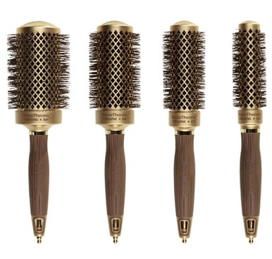 Olivia Garden NanoThermic Round Brushes - Thermal styling brushes in a variety of diameters