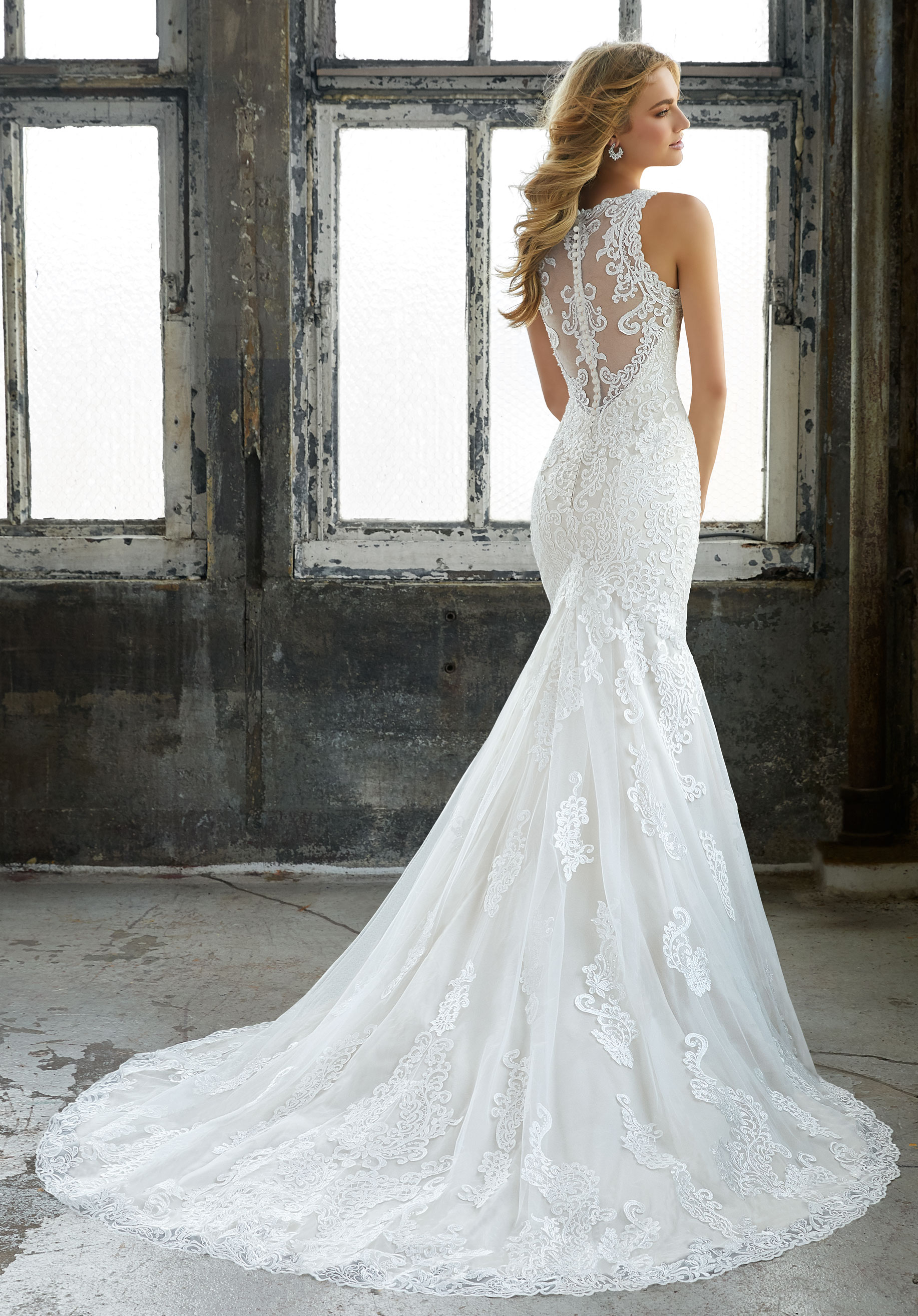 Morilee - The perfect wedding dress should be a reflection of your style and personality. The signature Morilee by Madeline Gardner Collection puts its focus on the details, and will leave you with so many unique choices to fit each and every type of bride. Perhaps you're picturing walking down the aisle in an ultra glamorous mermaid style. Our intricate crystal beaded embroidery will be sure to give you that extra sparkle. And for those hopeless romantics, look no further than our fairytale like ball gowns with their vintage lace and delicate necklines.