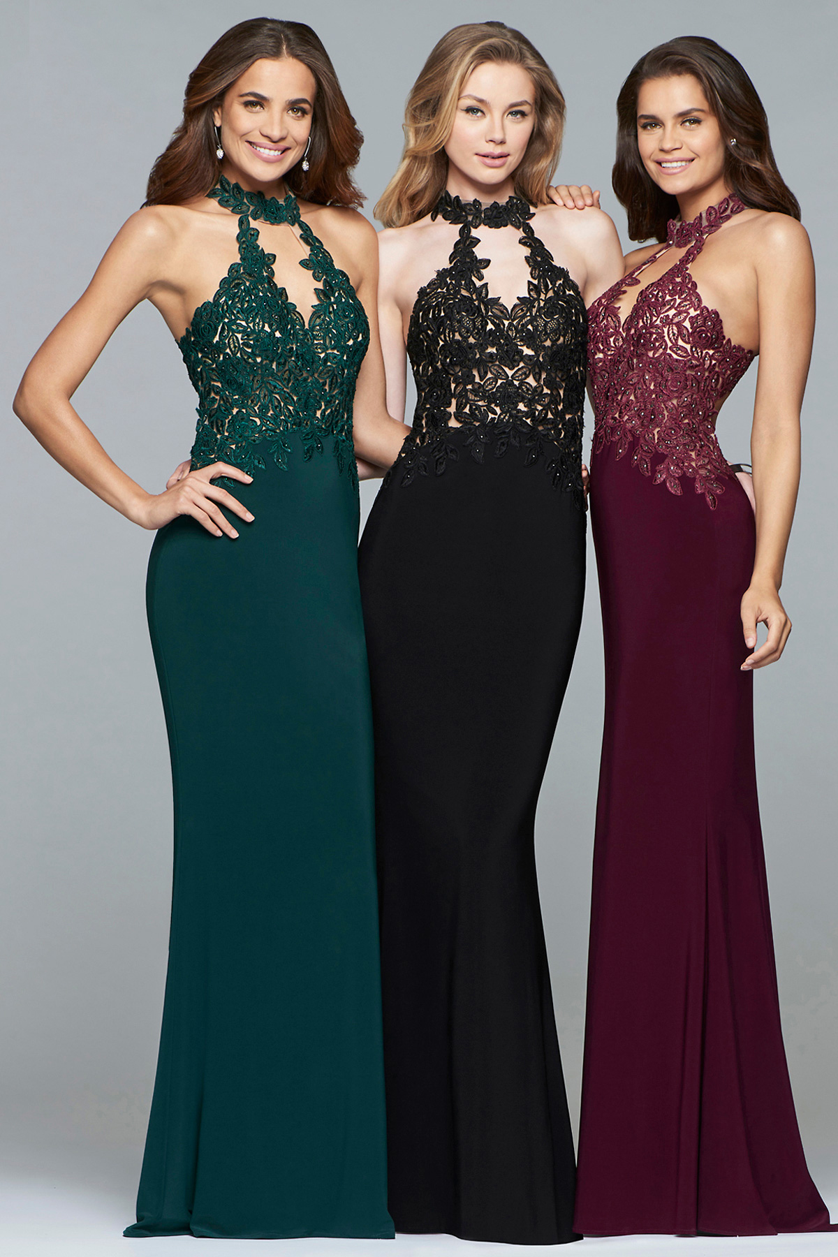 Faviana - Faviana. Girls who know, know the difference a Faviana gown makes. Easy moving fabrics and exceptional fits- a Faviana gown is a special keepsake.