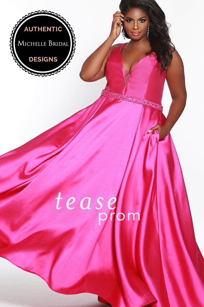 Sydney's Closet - Sydney's Closet. Yes! Sydney's Closet gowns have arrived. We can't wait to show you. We have entire size ranges for every girl. You will enjoy our large selection of dresses in all sizes. Great color options and awesome style awaits you at Savvi Prom.