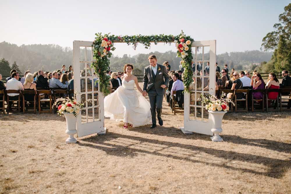Devine Ranch in Aptos Wedding