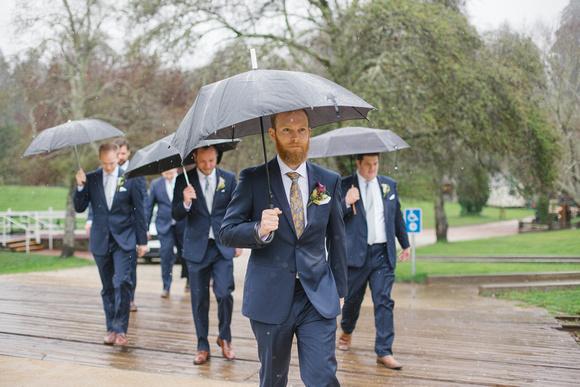Rainy Day Wedding