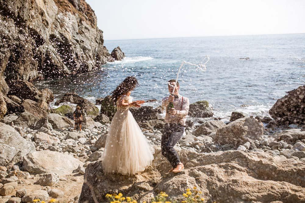 Big Sur Elopement Wedding