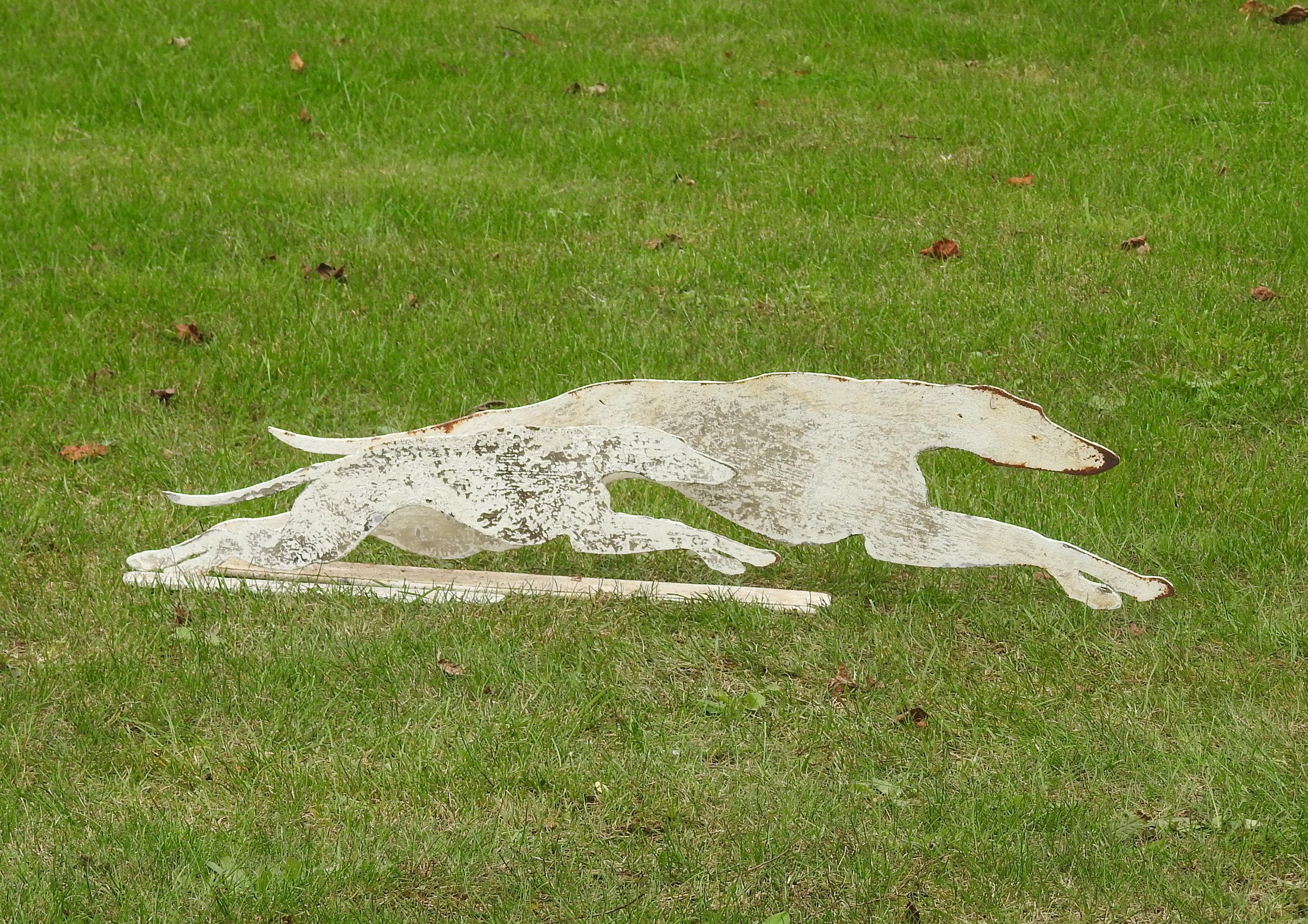 Running Whippets - £210 & £140pr - Large: 24 x 75cmSmall: 15 x 50cm