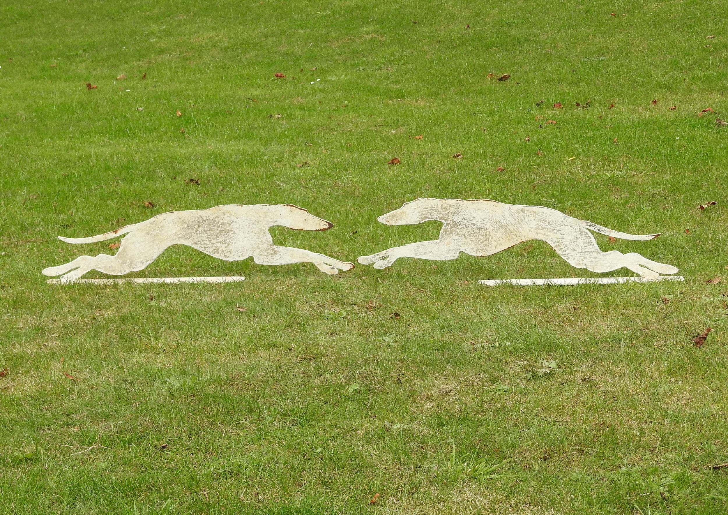 Running Whippets -£210 &£140pr - Large: 24 x 75cmSmall: 15 x 50cm