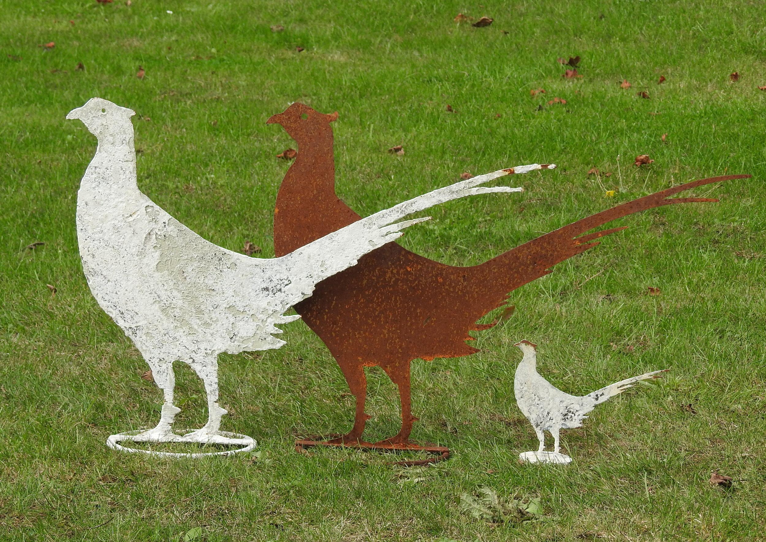 Pheasants - £85 & £28 - Lifesize: 41 x 58cmMini: 14 x 19cm