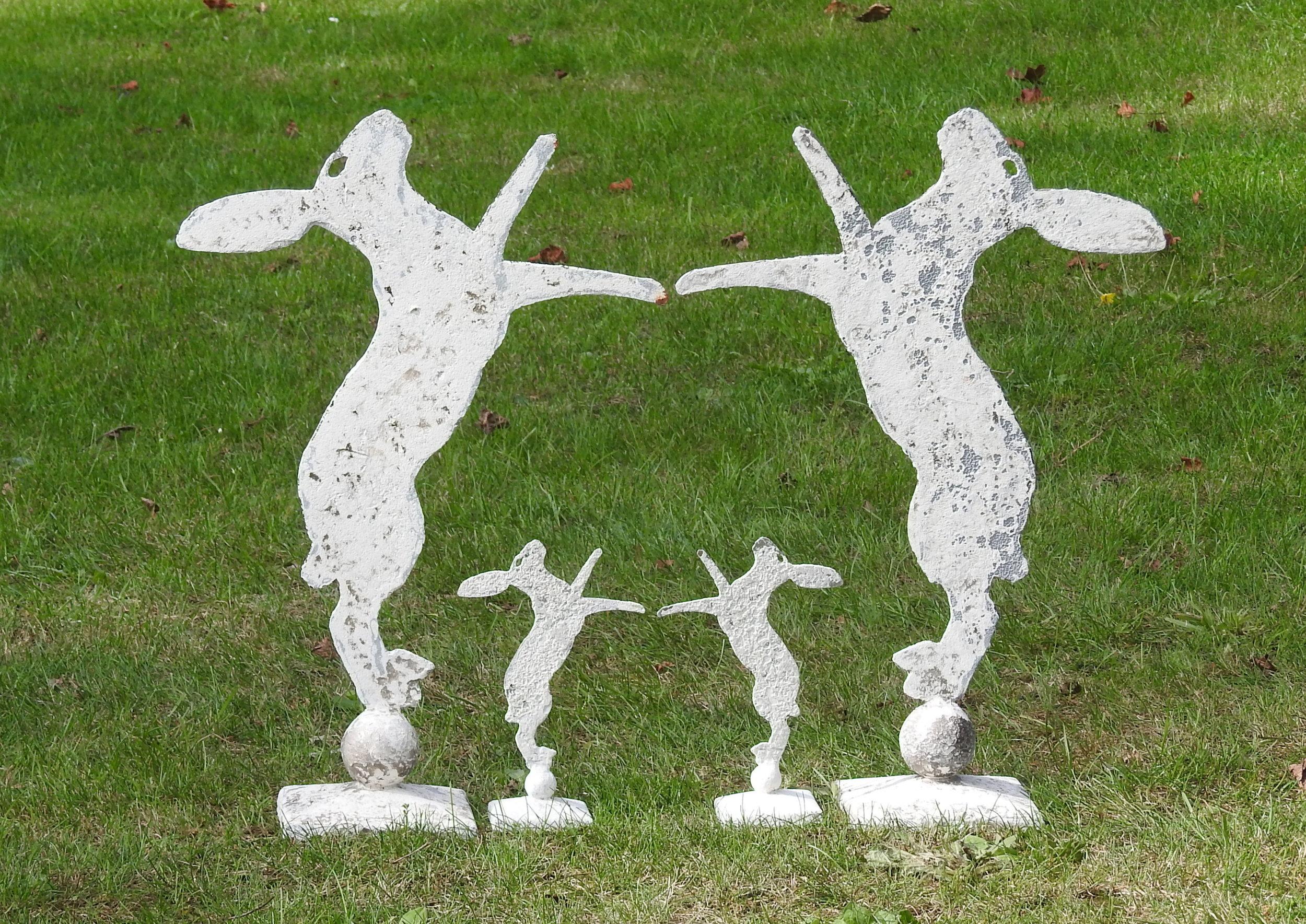 Medium Hares - £120prMini Hares - £50pr - Medium: 47 x 32cmMini: 19 x 12cm