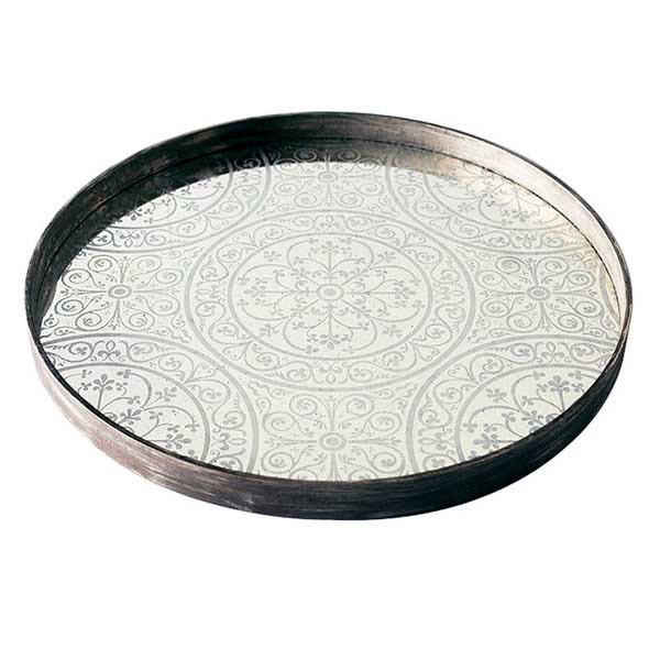 Moroccan Frost large mirror tray - £159 - 61 x 61cm