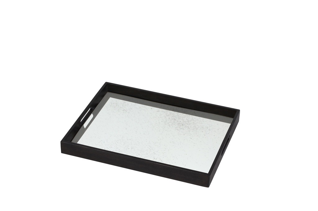 Light Aged Clear small mirror tray - £110 - 36 x 46cm