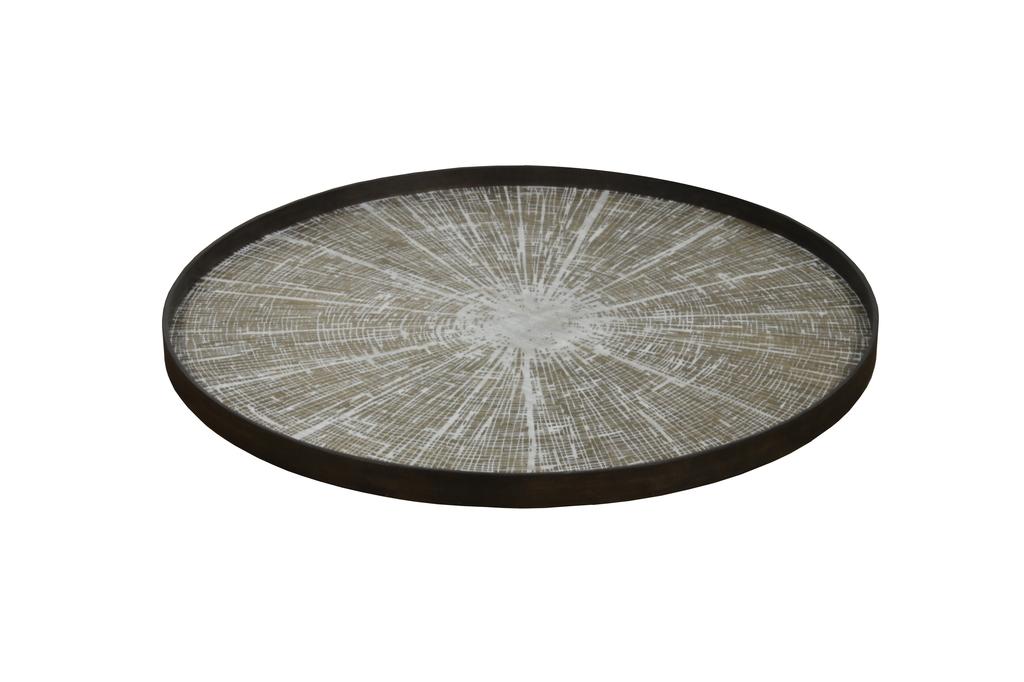 White Slice small driftwood tray - £85 - 48 x 48cm