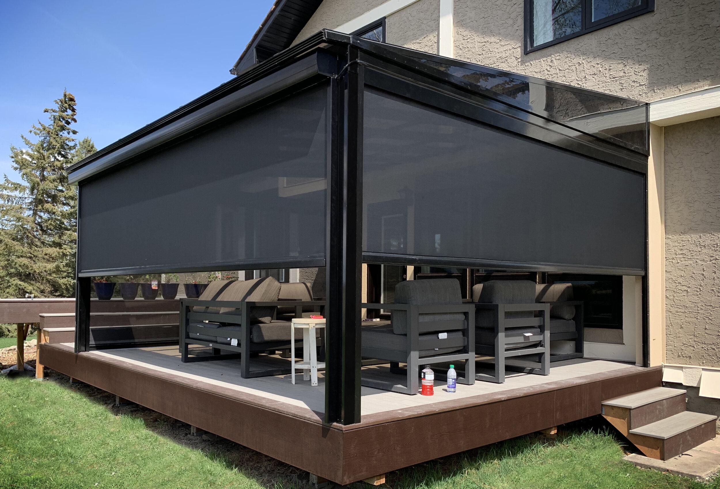 solar and wind shade screens calgary