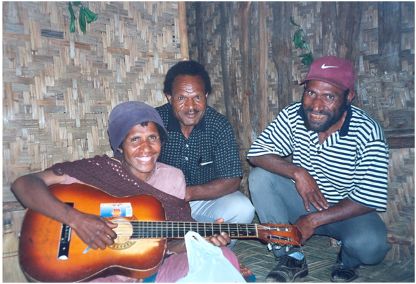 Kailge entertainment at night, Wapi, Wai, John (1980)