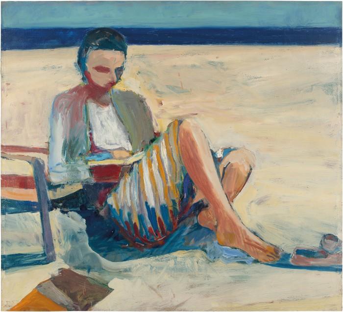 Richard Diebenkorn, Girl on the Beach, 1967