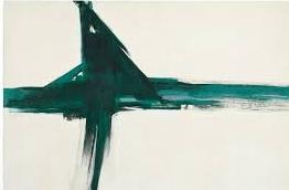 Franz Kline,  Green Cross , 1956