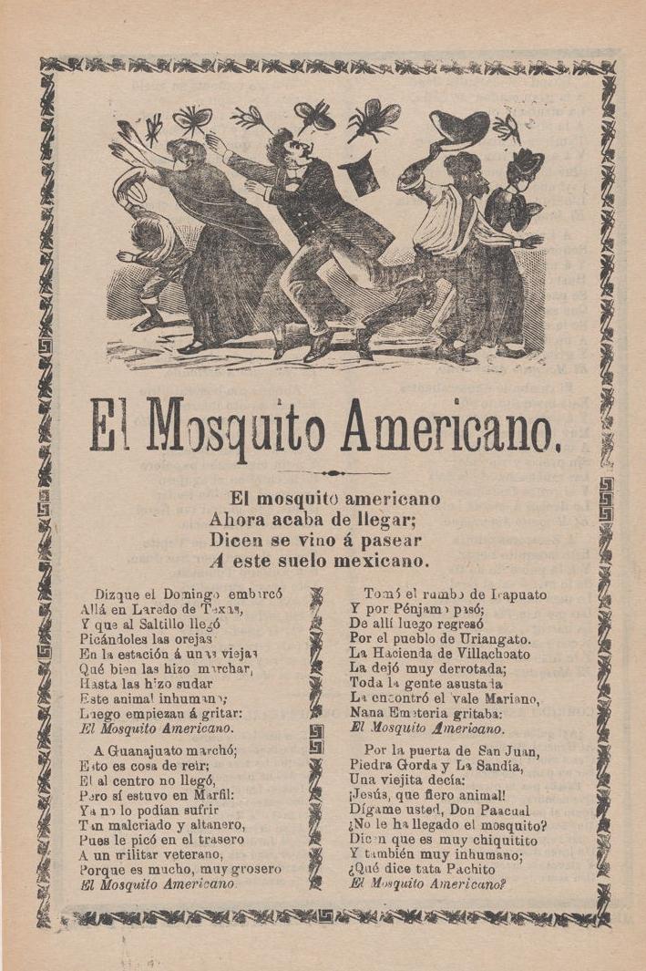 El Mosquito Americano , José Guadalupe Posada (Mexican, 1851–1913), 1910, Metropolitan Museum, NYC.