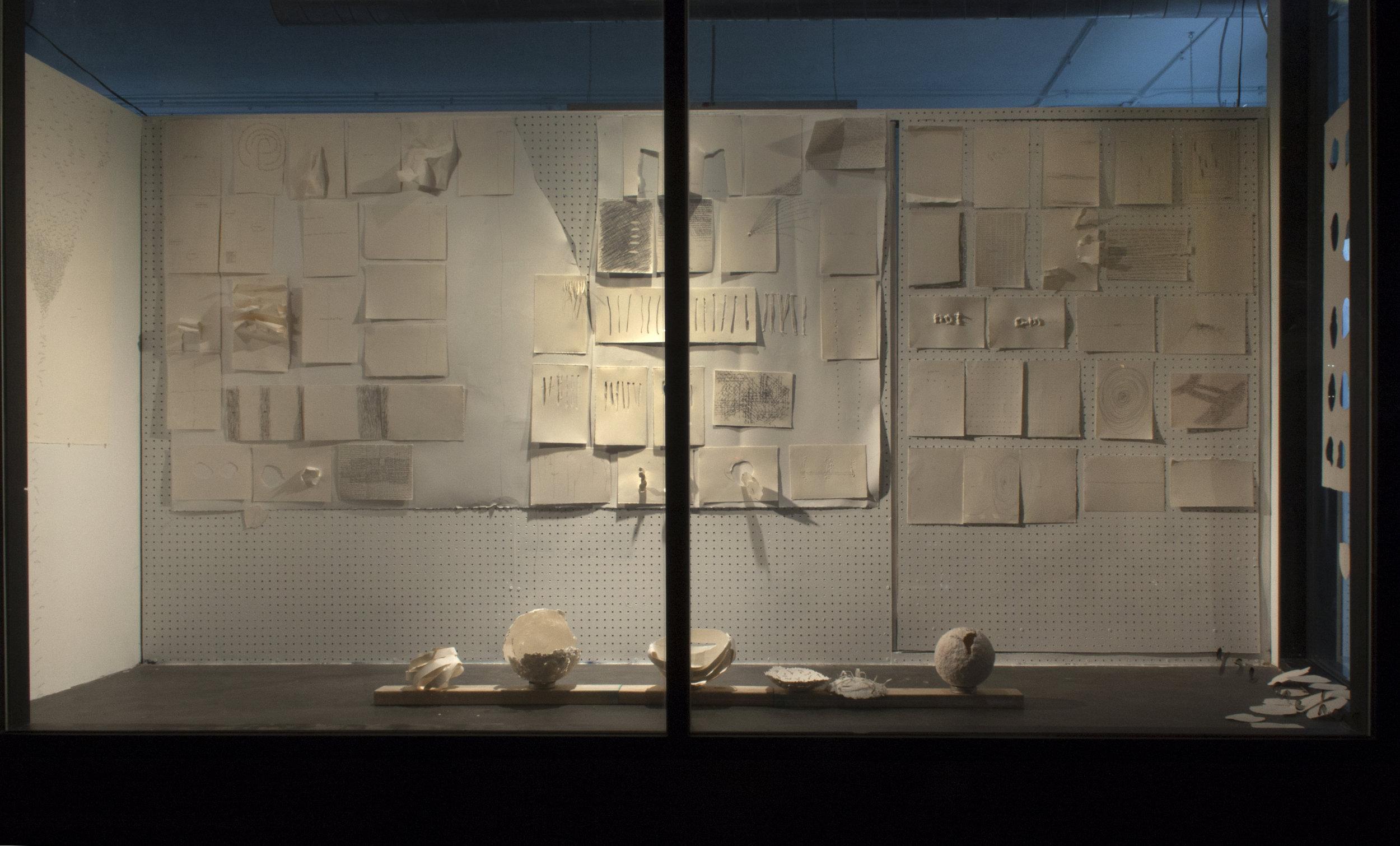 Friendzone Gallery installation, May 2017