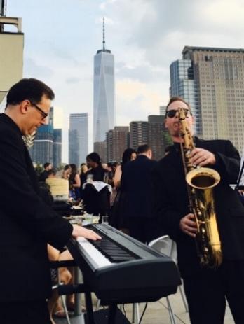 Chris Rogers, piano / Mark Hynes, Sax