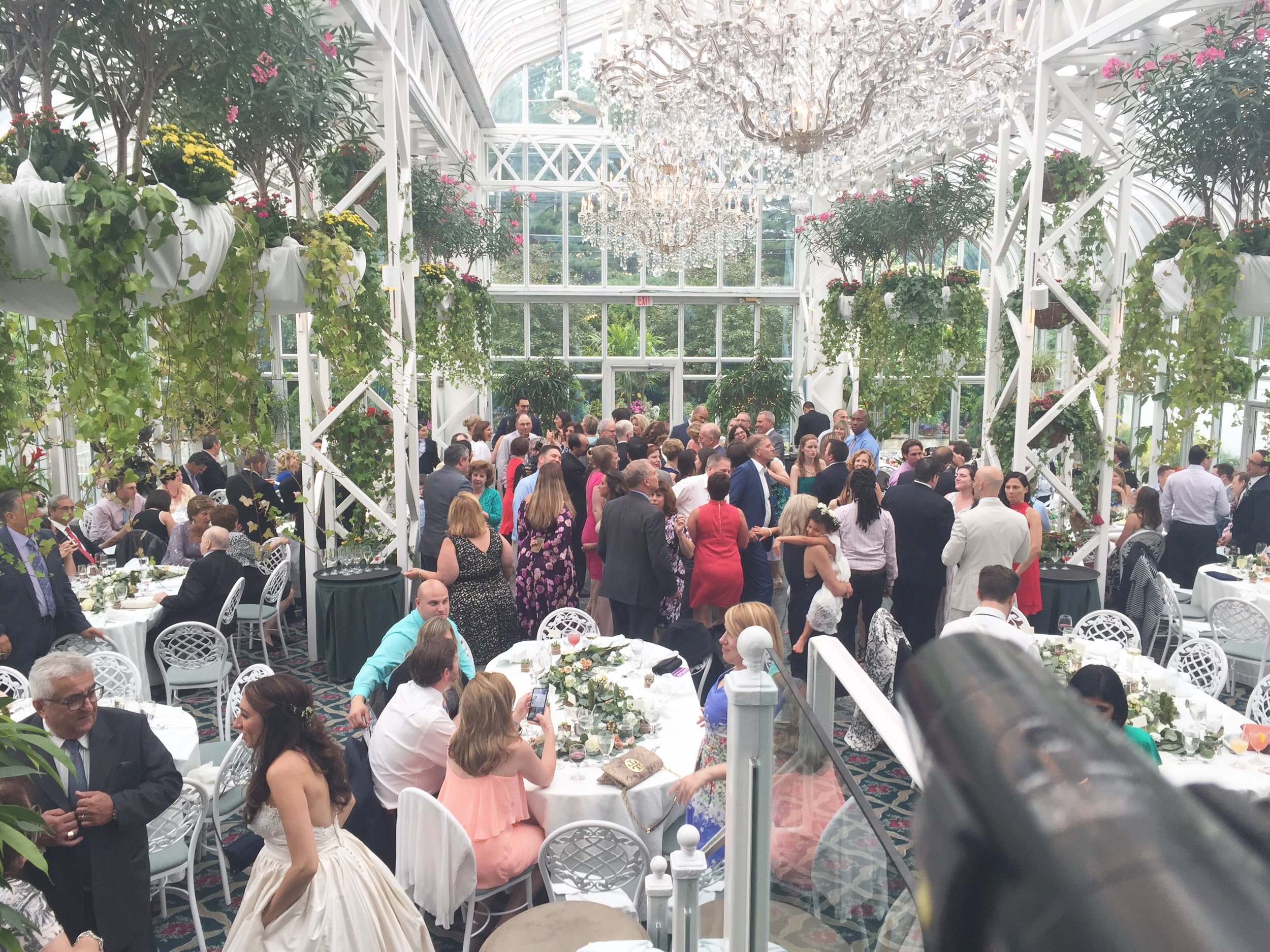 Click to enlarge photo of Natalie Tarangelo's day-time wedding with PBM at the Madison Hotel