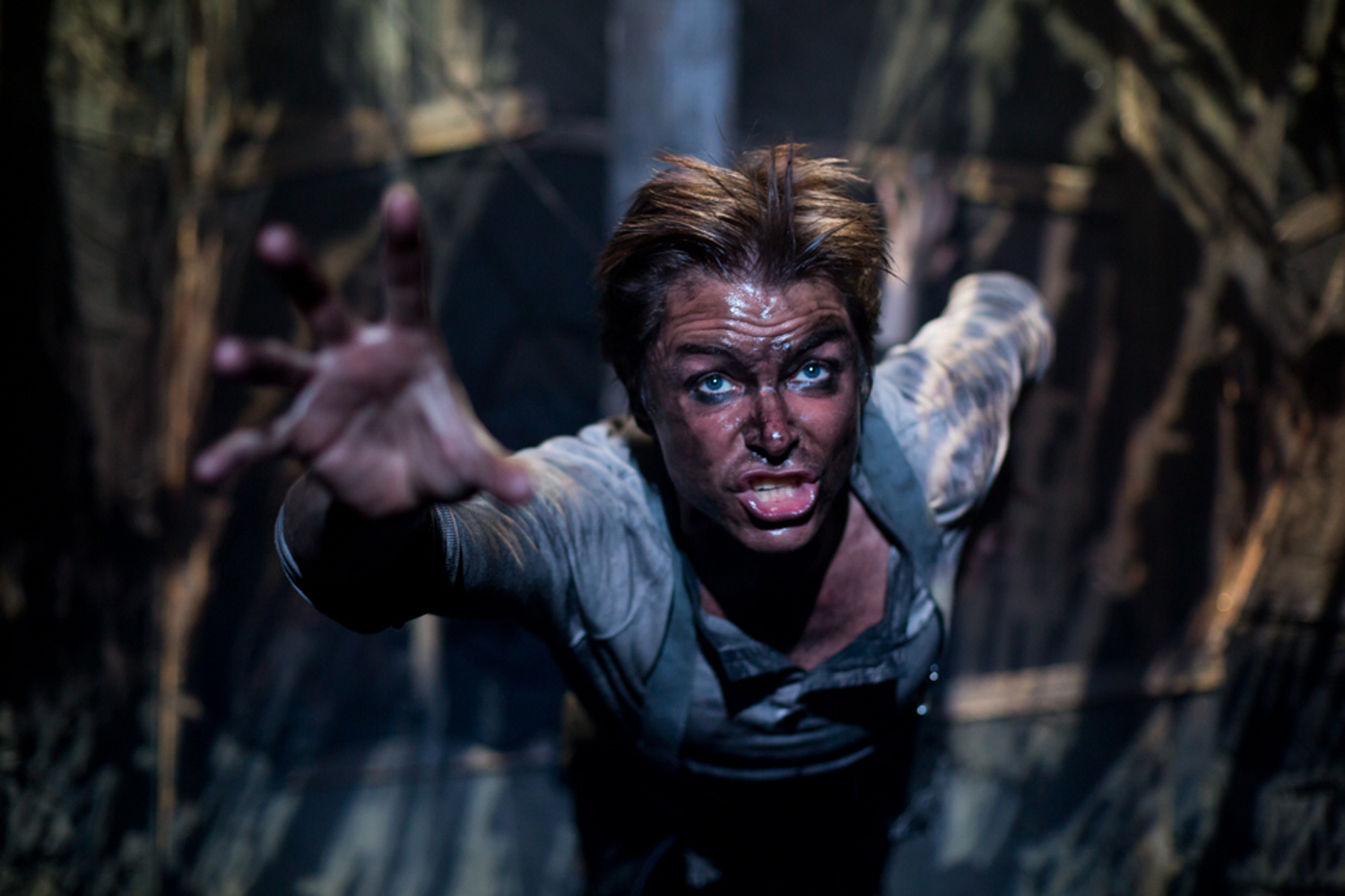 "As Bert in  The Trench  – Les Enfants Terribles Theatre Company. ""The most impressively-staged show I've seen this year, rendered with spellbinding intensity and a bravura performance by Ben Warwick "" ✮✮✮✮✮ THE SUNDAY EXPRESS"