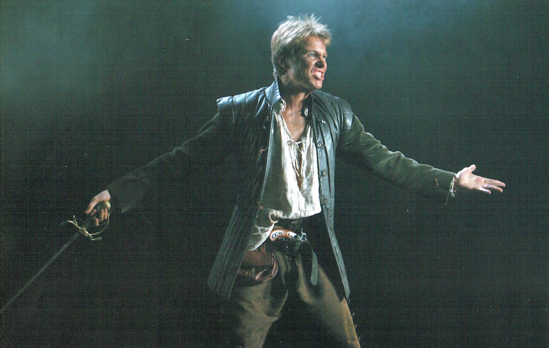 "Hamlet  - Ambassadors Theatre West End – English Touring Theatre ""It is Ben Warwick's vehement, violent Laertes that provides the evening's high notes."" Nicholas De Jong EVENING STANDARD"