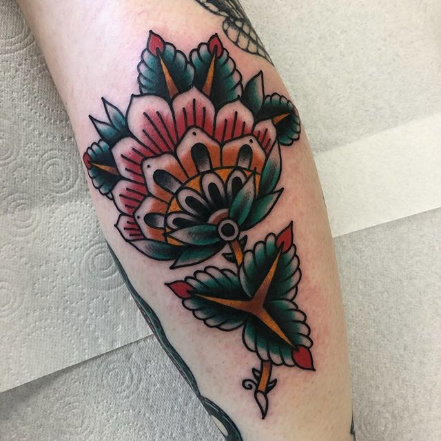 One of three made today for Sian at @parliamenttattoo thank you so much for sitting so well! joshmarkstattoo@gmail.com