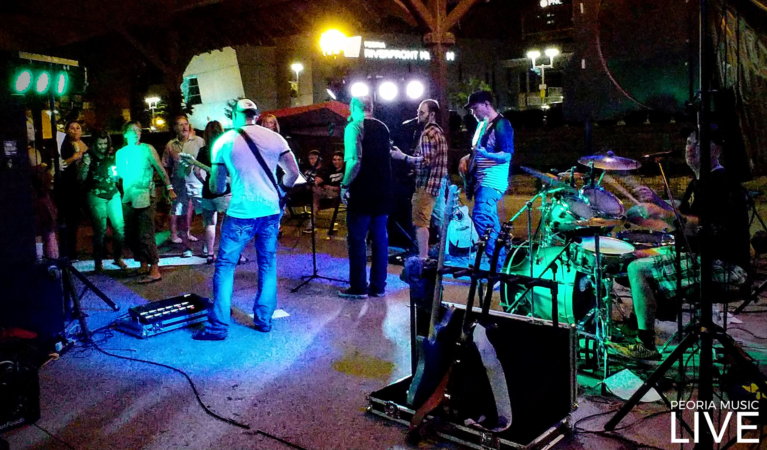 Trailer Parke had the dance floor full at Martini's!  Aug 25, 2018  These guys have been very supportive of Peoria Music Live since the beginning.