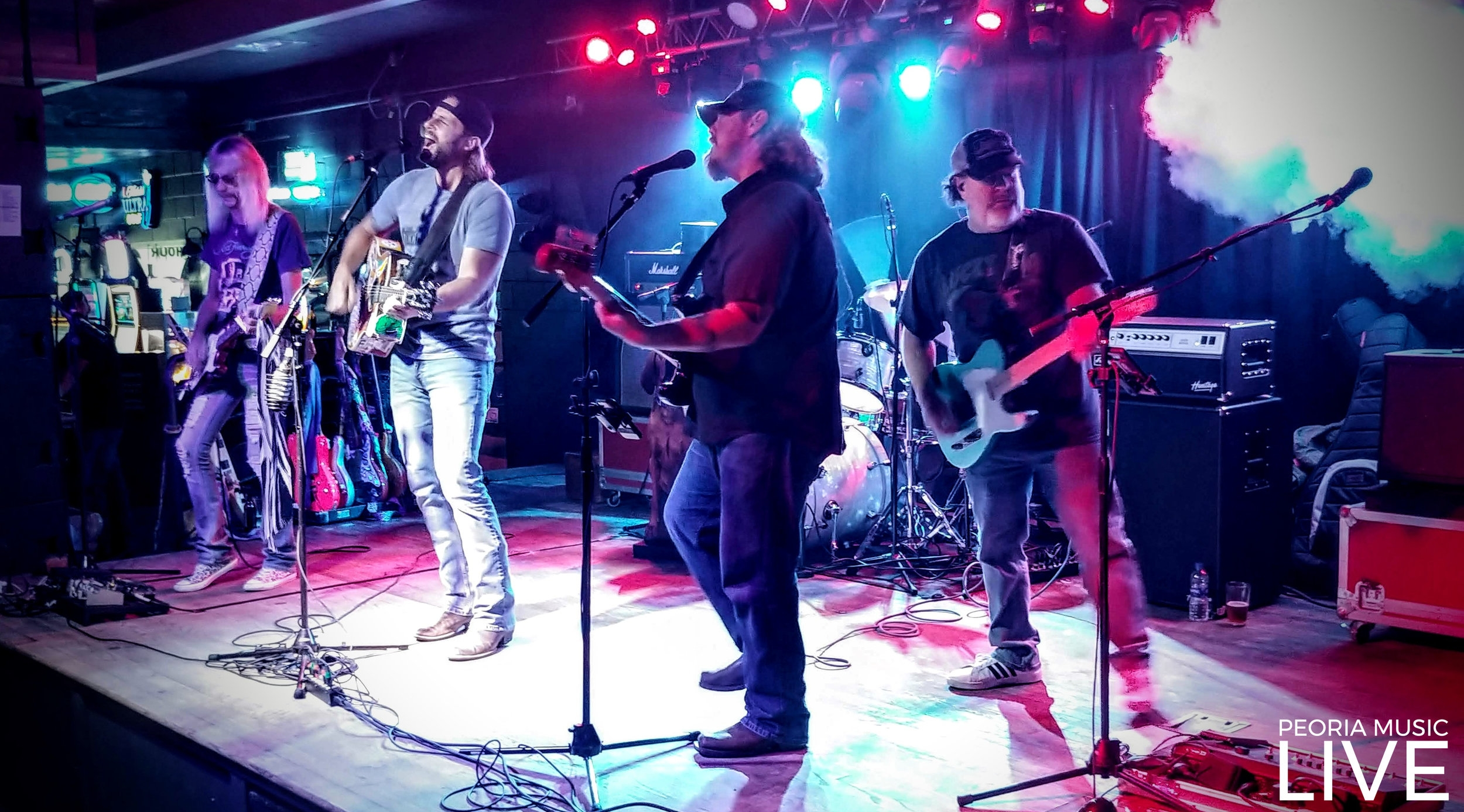 Joe Stamm Band at Crusen's on Farmington 8/25/18