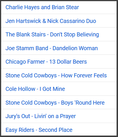 Peoria Music Live top ten videos 10 youtube.PNG
