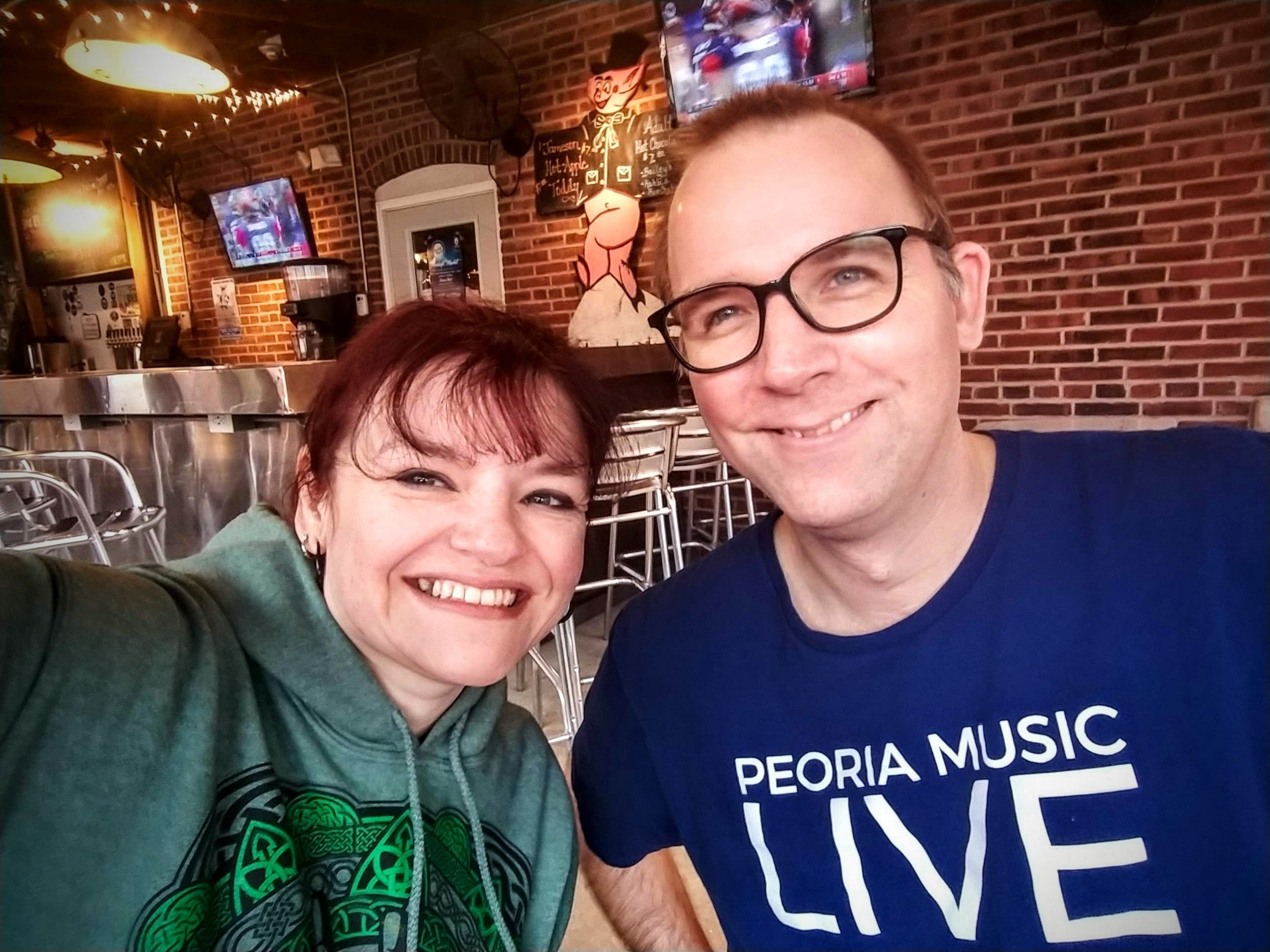 I love doing what I do through Peoria Music Live and bringing Mike along too. (He's been a huge help since he started joining me!)