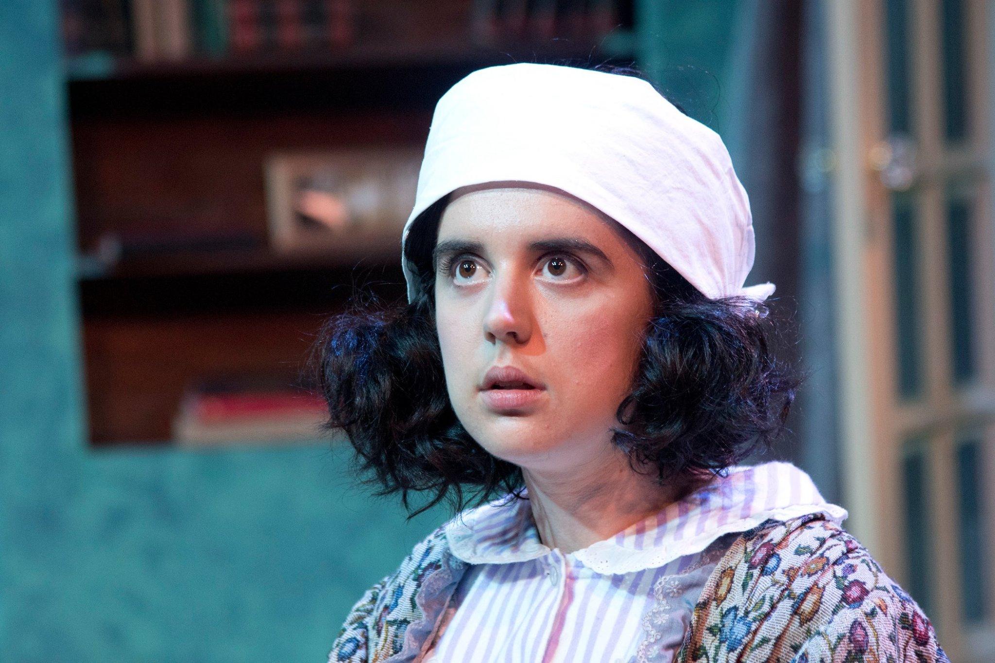 Annapolis Shakespeare Company's 2018 production of Blithe Spirit. Directed by Sally Boyett. Photo by Joshua McKerrow.