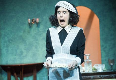 Annapolis Shakespeare Company's production of Blithe Spirit, directed by Sally Boyett. Photo: Joshua McKerrow