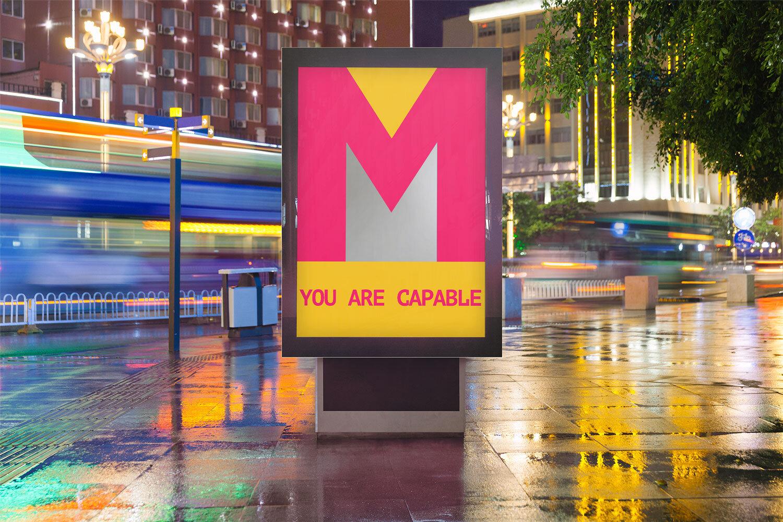Street Marketing - Mirror interaction