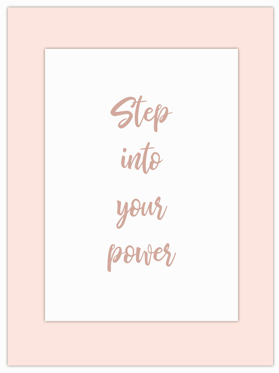 Let my Monday Muse motivate you through the week! - Step into and own that power!