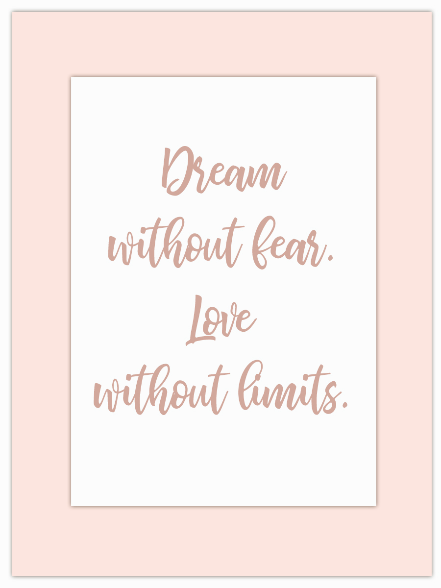 Let my Monday Muse motivate you through the week! - Whether it's dreaming or loving… be all there!
