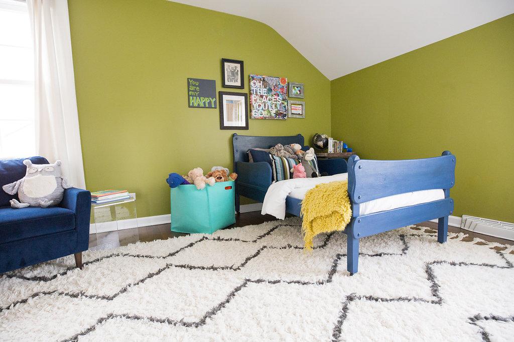 Finn's Bedroom After