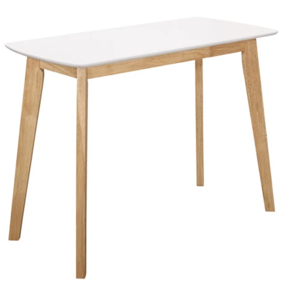 here is the desk I am ordering for Finn's room… it will be a neutral piece that we can use in other areas of the house, as he grows out of it. I will add simple storage drawer components under it to maximize space and organization capacity.  product link