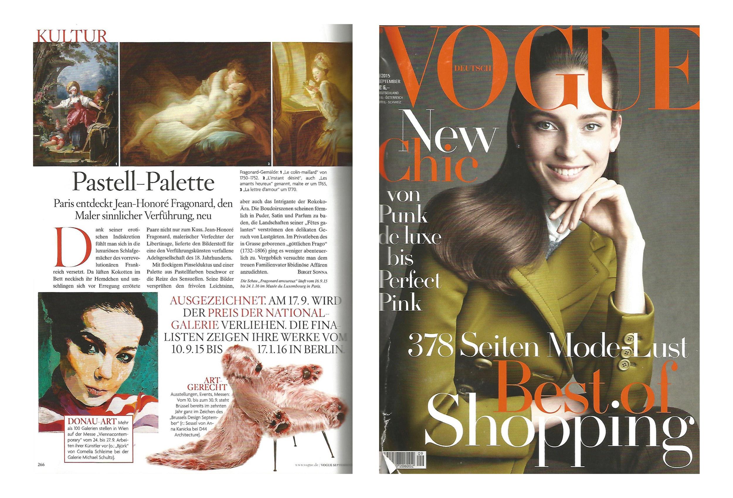 Vogue - Vogue DeutschlandSeptember 2015