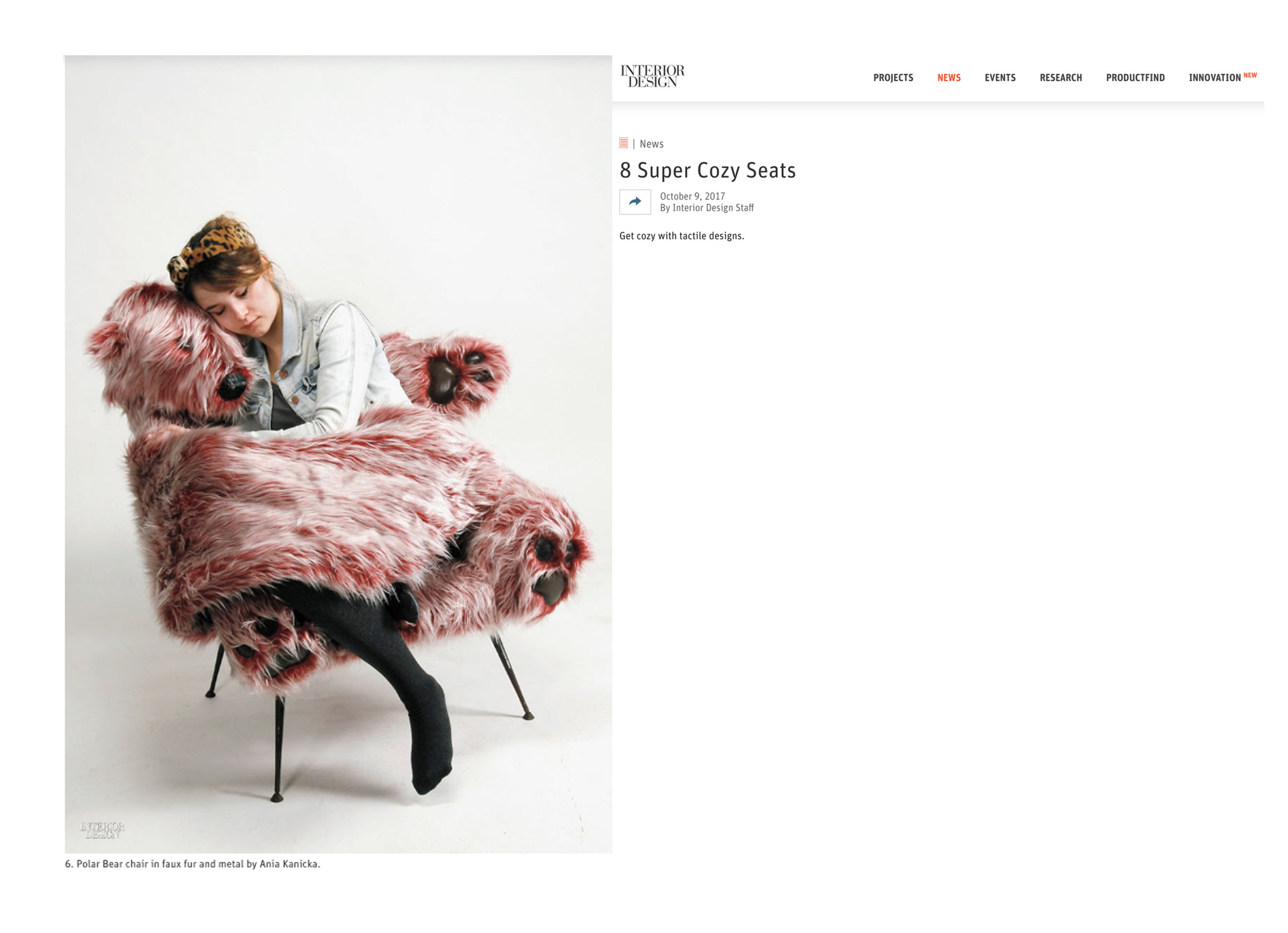 Interior Design - 8 Super Cozy Seats