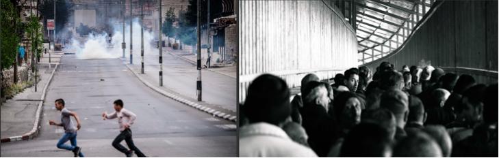 photo: Steve Pavey, 2016 - Bethlehem and Checkpoint 300 (respectively)