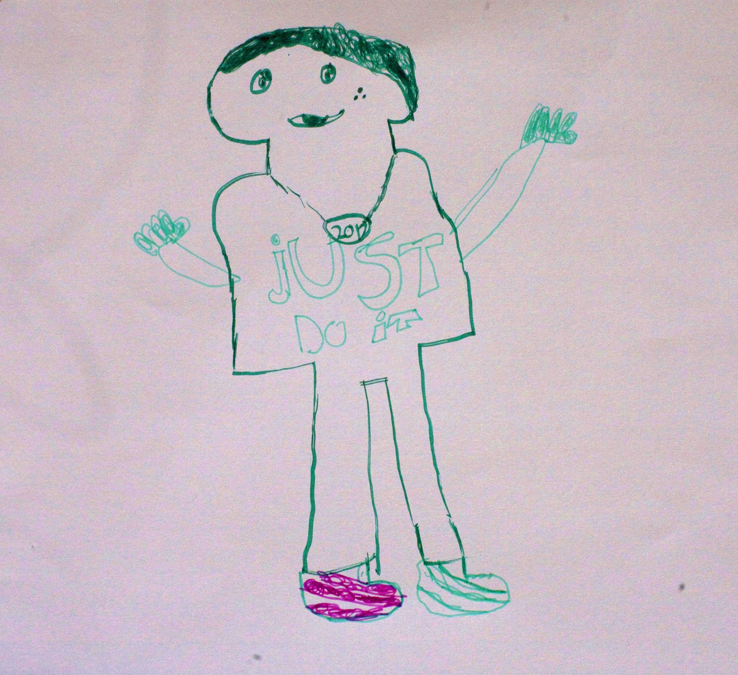 Jillian Lazaridis - Listen to the podcast and see the children's artwork illustrating Jillian's story.